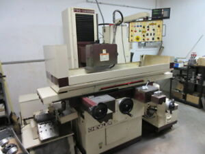 Chevalier Fsg 3a 1224 Automatic Surface Grinder 12 X 24 Chuck