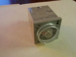 Omron H3cr a8 Timer Used