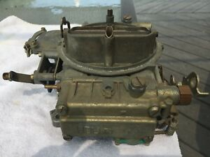 Holley 600 Cfm Carb Carburetor List 1850 2 With Manual Choke