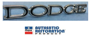2901813 1969 Dodge Coronet And Dart Trunk Lid Emblem Vc1813 Yearone