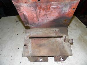 Case Sc Tractor Battery Box