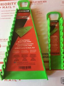 Snap On Green Wrench Racks