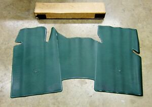 Nos 1973 1974 1975 1976 Impala Caprice Front Floor Mat Dark Green Gm Accessory