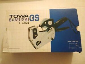 New Towa Samurai Gs Price Gun Pricing Label 1 Line Part Number Gs 294