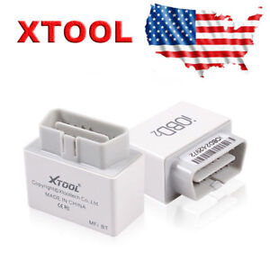 Xtool Iobd2 Obd2 Auto Bluetooth Code Reader Diagnostic Tool For Ios Android Us