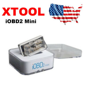 Xtool Iobd2 Mini Bluetooth 4 0 Engine Code Reader Scanner For Android Ios Us