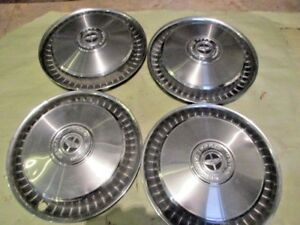 1976 77 Ford Pickup Truck Hubcaps 15 Four
