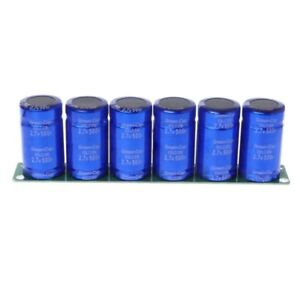 6 Pcs Farad Capacitor 2 7v 500f Super Capacitance With Protection Board1 Set