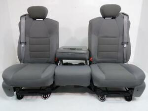Ford Super Duty Seats Super Cab Set Gray F250 F250 F550 F650 Extended Cab Seats