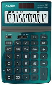 Casio Calculator Jf z200gn n Green 12 digit Tilt Lcd Just Type From Japan 1041