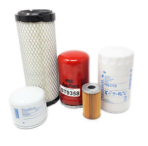 Kubota L3010 L3130 L3410 L3430 Hst Models Maintenance Filter Kit 05 Filters