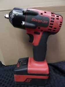 Snap On Tools Ct8810a 18volt 3 8 Cordless Impact Wrench W Battery