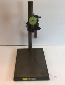 Brown Sharpe No 599 7702 Cast Comparator Base With Gauge 9 X 7