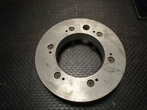 Lathe Chuck 10 Mounting Adapter Ring D1 8 Cam Lock Spindle