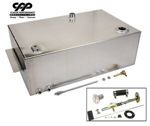 63 66 Chevy C10 1 2 Ton Truck 18 Gallon Aluminum Fuel Gas Tank With Install Kit