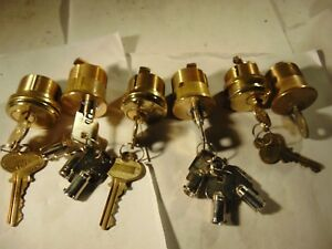 6 New Mortise Locks Cylinders With Key Locksmith