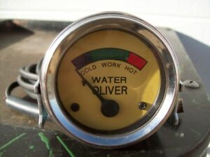 Oliver 44 Through 88 Tractor Temperature Gauge Free Shipping