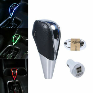 Universal Car Gear Shift Knob Shifter Lever Touch Activated Manual Automatic Led