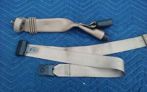 97 98 F150 Front Center Bench Lap Receiver Middle Extended Cab Seat Belt Tan