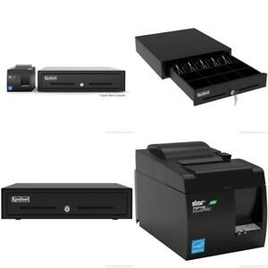 Square Pos Hardware Bundle Star Micronics Tsp143iiu 39464011 Usb Printer And E