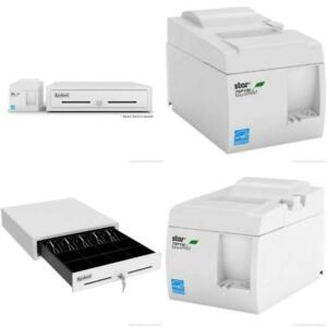 Square Pos Hardware Bundle Star Micronics Tsp143iiu 39464510 Usb Printer And E