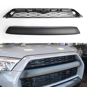 For 2014 2019 Toyota 4runner Trd Pro 2 Piece Front Bumper Grille Replacement Bs1