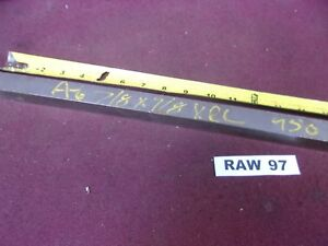 A6 A 6 Tool Steel 7 8 Square Flat Stock 24 Long Raw97