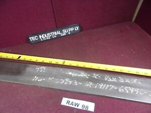 A6 A 6 Tool Steel 1 2 X 3 X 24 Flat Stock Raw98