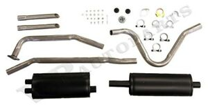 Exhaust System Volvo P1800 61 65 Single Pipe Kit