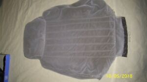 1984 1988 Pontiac Fiero Padded Seat Cover Top Piece With Back Pocket Gray