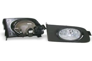 Oe Type Clear Fog Light Kit With Switch Harness Depo Fits 2001 2003 Honda Civic