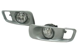 Oe Type Clear Fog Light Kit With Switch Harness Depo Fits 1999 2000 Honda Civic