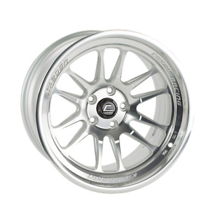 Cosmis Racing Xt206r 18x9 5 10 18x11 8 5x114 3 Silver Staggered set Of 4