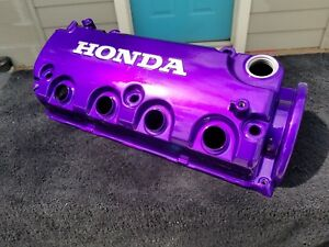 Honda Civic Eg Ek D16z6 D16y8 Jdm Hks Candy Purple Valve Cover Powder Coated