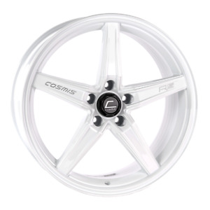 Cosmis Racing R5 18x8 5 40 5x108 White Ford Focus St