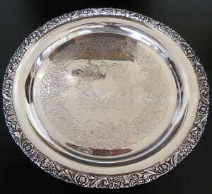 Wilcox Is International Silver Co New Beverly Manor 1370 11 Platter Tray