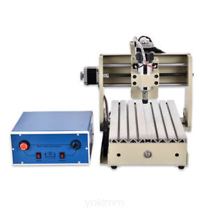 3axis 3020 Cnc Router Engraving Machine Carving Machine Milling Machine 300w Usb