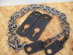 3 point Hitch Mower Height Stabilizer Chain Kit Free Shipping