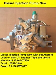 Zexel 104742 3040 Diesel Fuel Injection Pump Without Aneroid New
