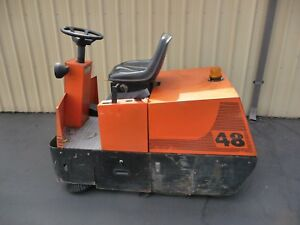 Factory Cat 48 Industrial Rider Floor Sweeper Vacuum Made In Usa Fob Pdx