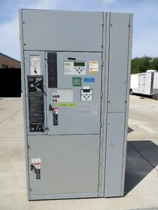 Asco 800 Amp Series 7000 Auto Transfer Switch W bypass 480v