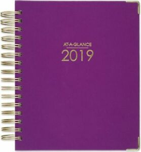 At a glance Harmony Hardcover Daily monthly Planner 2019 Daily Planners