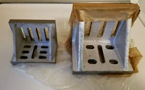2 Slotted Angle Plate See Pictures For Sizes