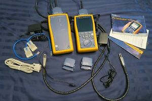 Fluke Dtx 1800 Cat 6a Cable Analyzer W Smart Remote And Accessories Ships Today
