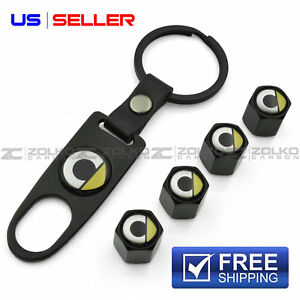Valve Stem Caps Keychain Wheel For Smart Car Key Fob Keys Vs79 Us Seller