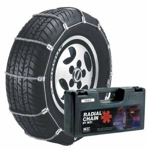 Security Chain Company Sc1014 Radial Chain Cable Traction Tire Chain Set Of 2