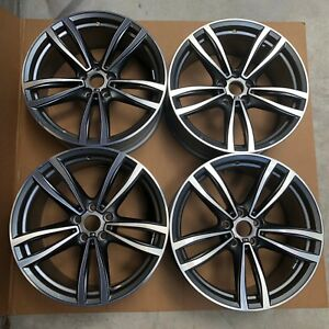 19 Bmw 7 Series Wheels Factory Oem Rims 7850579 7850580 Staggered Set