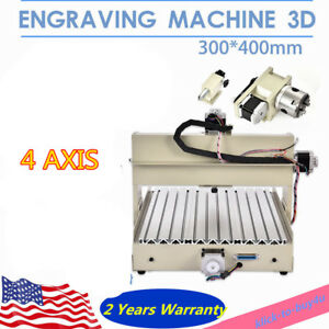 4axis 3040t Usb Engraver Cnc Engraver Drill Wood Cutter 3d Carver Milling Cutter