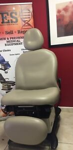 Midmark 630 Procedure Chair With Hand Control And New Upholstery