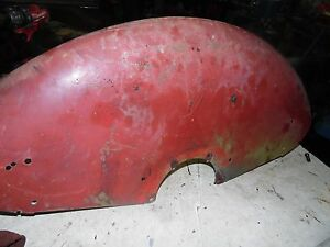 Farmall Cub Serial 63513 Tractor Rear Fenders